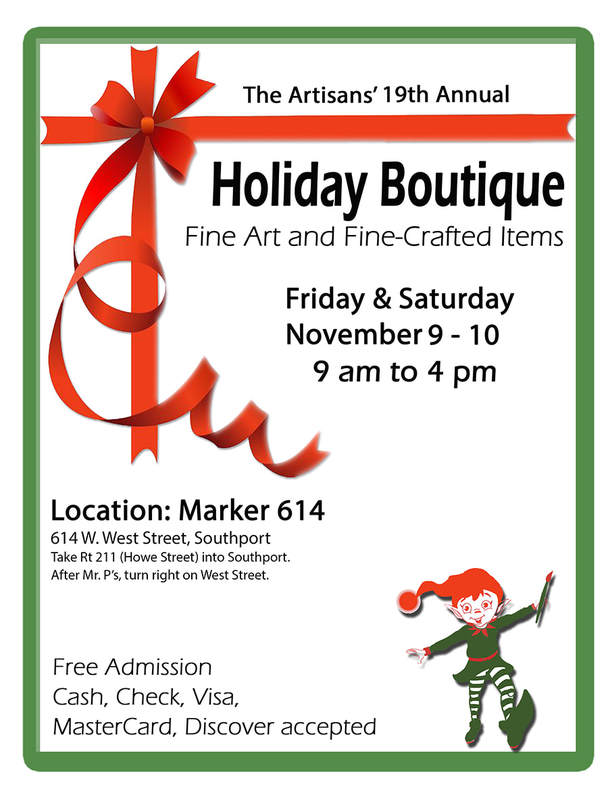 Holiday Boutique 2018 - The Artisans and Stepping Up For Arts